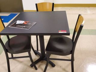 3ft x 3ft Table With Chairs