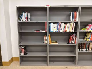 2  Bookshelves With Contents