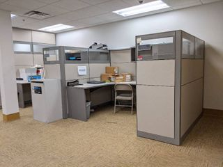 2  Cubicles With Contents