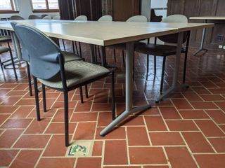 3  Tables With Chairs