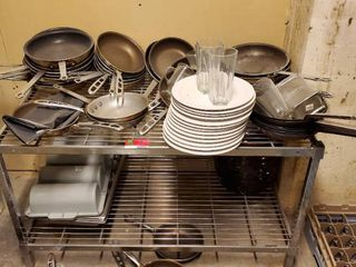 Various Pans  and Plates