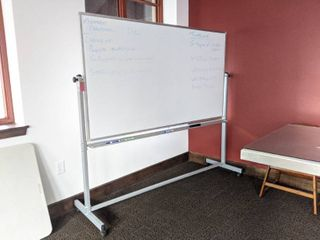 Double Sided Dry Erase Board On Casters