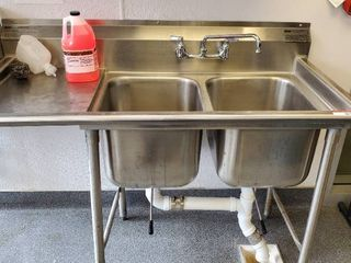 Eagle 2 Bay Stainless Steel Sink