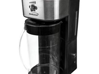 Brentwood Iced Tea and Coffee Maker with 64oz Pitcher  Black