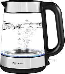 Amazon Basics Glass Electric 1 7l Kettle