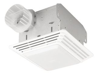80 CFM 2 5 Sones Heavy Duty Fan light