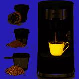 Sboly 3in1 Coffee Maker Ground Tea leaf
