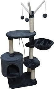 Multi level Cat Tree in Grey and Beige