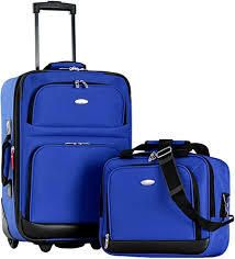 Olympia USA Carry On Suitcase w  laptop Case