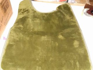Padded Green Toilet Mat