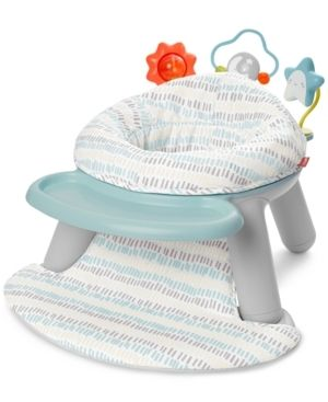Skip Hop Baby Seat Silver lining Cloud 2 in 1 Sit up Chair   Activity Floor Seat   Gray