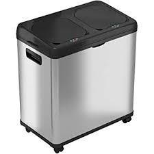 16 Gallon Dual Compartment Trash Can