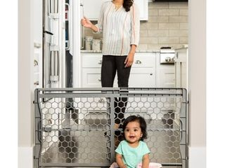 Regalo Easy Fit Plastic Adjustable Extra Wide Baby Gate