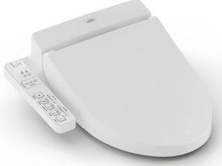TOTO Elongated C100 Washlet  Cotton White
