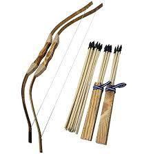 Wooden Bow   Arrow Set