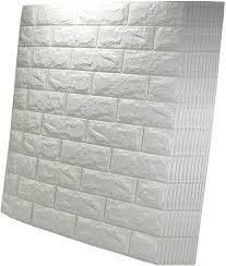Brick Stick   Peel Interior Foam Brick   10 Pack