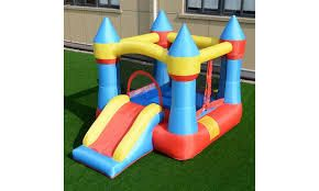 Improved Inflatable Bounce House w  Blower
