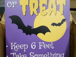 Modern Day Halloween Yard Sign