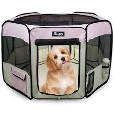 Jespet Pet Exercise Playpen w  Case