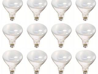 Phillips 65W Flood light Bulb   12 Pack