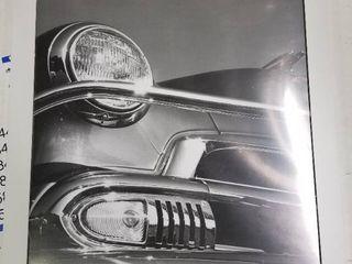 Framed Car Picture