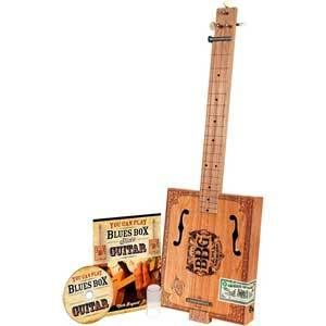 Hinkler Electric Blues 3 String Cigar Box Electric Guitar
