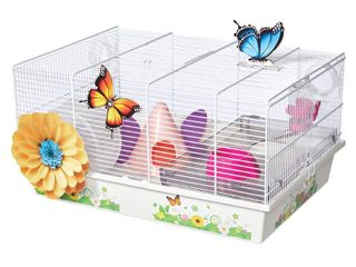Midwest Homes for Pets Butterfly Themed Hamster Cage