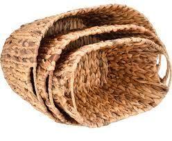 Trademark Innovations Nesting Baskets Decor   2 Pack