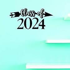 Design w  Vinyl Class of 2024 Vinyl Application