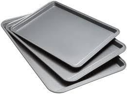 Goodcook Nonstick Cookie Sheets   3 Pack