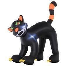 Inflatable Halloween Cat Yard Decoration
