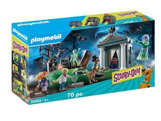 Playmobil SCOOBY DOO  Adventure in the Cemetery