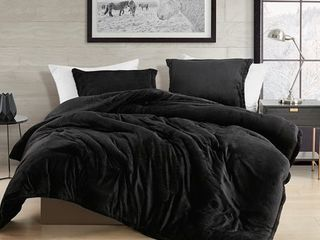 Coma Inducer Oversized Comforter   Touchy Feely   Black  Retail 116 71