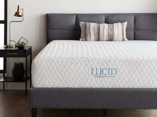 lUCID Comfort Collection 12  inch Gel