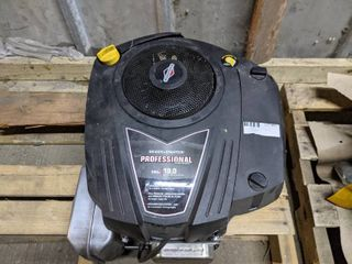 Briggs   Stratton Intek Vertical OHV Engine with Electric Start  540cc  1in  x 3 5 32in  Shaft  Model  33S877 0019 G1  NEW AND UNUSED