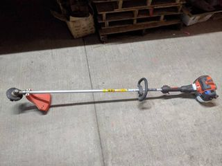 Husqvarna 525lS 25 4cc Professional 2 Cycle Straight Shaft String Trimmer USED TESTED AND WORKS AS IT SHOUlD