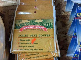 97 packs  American Camper Toilet Seat Covers
