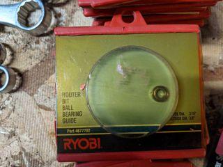 34  Ryobi Router Bit Ball Bearing Guides