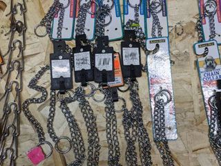 14  Chain Collars for Dogs