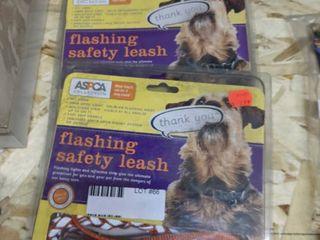 3  Flashing Safety leashes