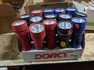 14  Dorcy Flashlights