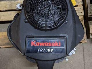 Kawasaki FR730V 726cc 24 HP OHV V Twin Electric Start Vertical Engine  1 1 8  x 108 8mm Crankshaft  NEW AND UNUSED