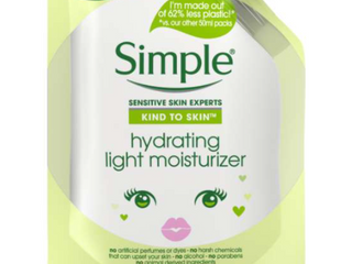 Simple Kind To Skin Mini Hydrating light Moisturizer 1 69 Fl Oz