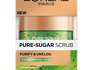 l Oreal Paris Pure Sugar Scrub Purify   Unclog  1 7 oz