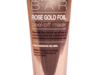 Masque Bar Rose Gold Foil Peel off Mask 2 37 Oz Each