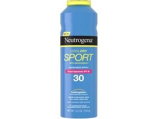 Neutrogena CoolDry Sport Sunscreen Spray SPF 30  5 5 oz