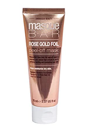 Masque Bar Rose Gold Foil Peel off Mask