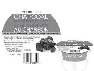 Masque Bar Charcoal Peel Off Modeling Mask   1 oz
