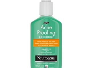 Neutrogena Acne Proofing cleanser   Salicylic Acid   GEl
