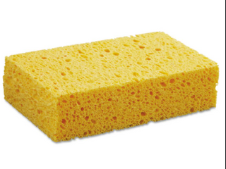 lot of 4   6x3 5 inch Sponges Individually Wrapped